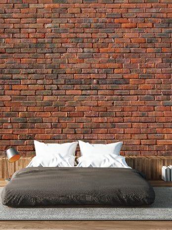016.50 Rode bakstenen muur