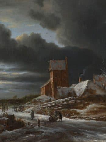 029.18 Winterlandschap