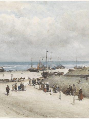 029.24 Het strand van Scheveningen