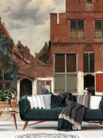 029.36 Gezicht op huizen in Delft