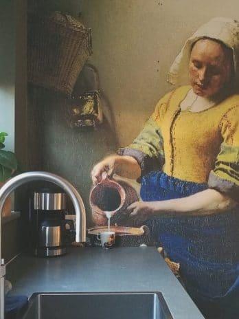 029.37 Het melkmeisje van Vermeer