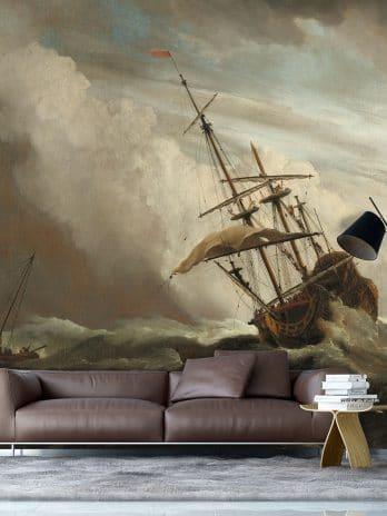 029.40 Titel van het doek is De Windstoot