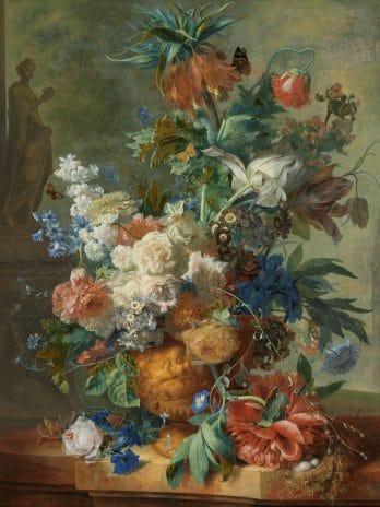 029.42 Weelderig bloemstilleven