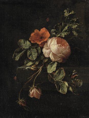 029.46 Stilleven met rozen