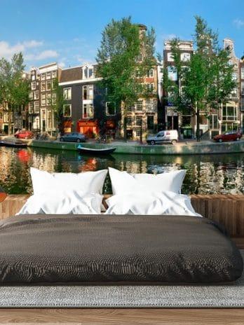 033.16 Panorama Amsterdamse grachten