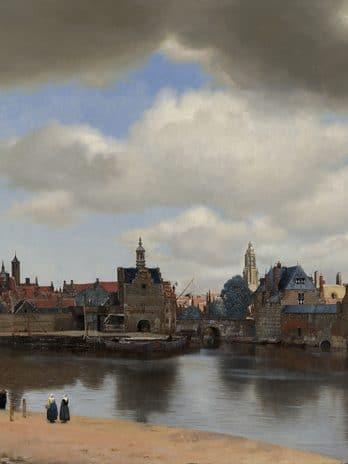 055.02 Beroemd stadsgezicht op Delft
