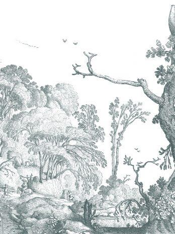103.04 Pentekening van landschap
