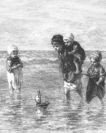 103.10 Pentekening kinderen der zee