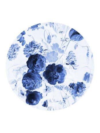 BC011 Stilleven met bloemen in Delftsblauw